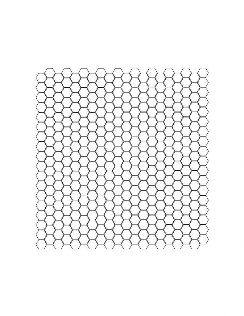 Hex Tile Template The Made Home