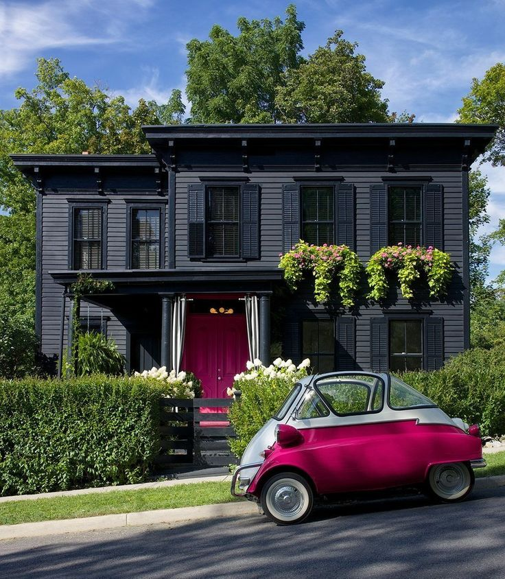 Whitney House. 4 Happy Exterior Color Schemes. | The Made Home