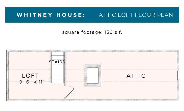 whitney loft floor plan