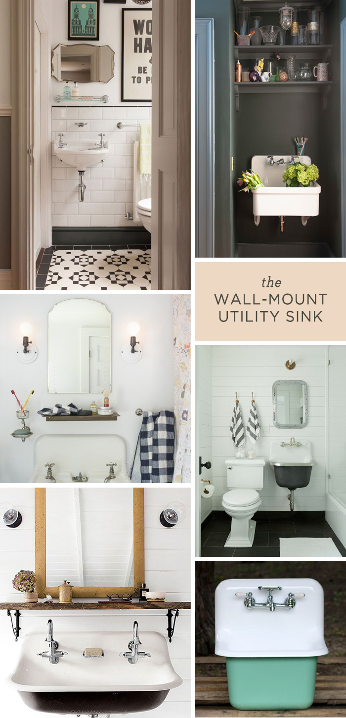 wall mount utility sink