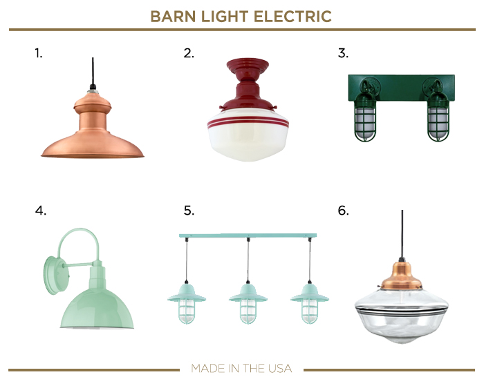 Made in the USA LIGHTING_BARN LIGHT ELECTRIC