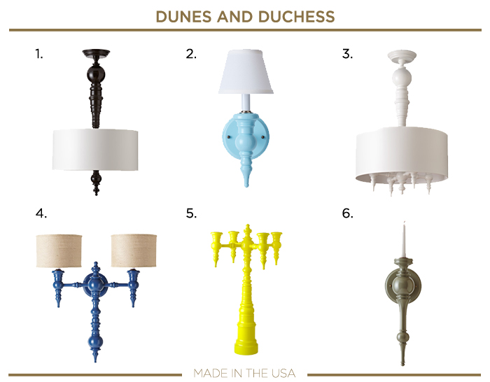 Made in the USA plumbing fixtures_DUNES AND DUCHESS