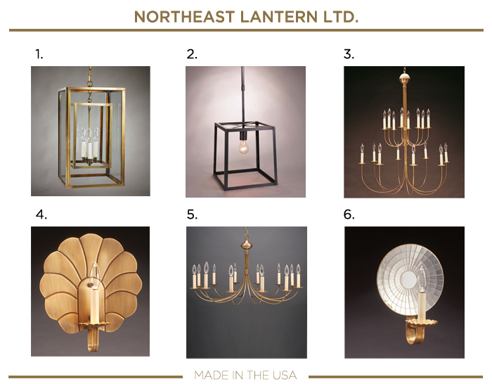 Made in the USA plumbing fixtures_NORTHEAST LANTERN