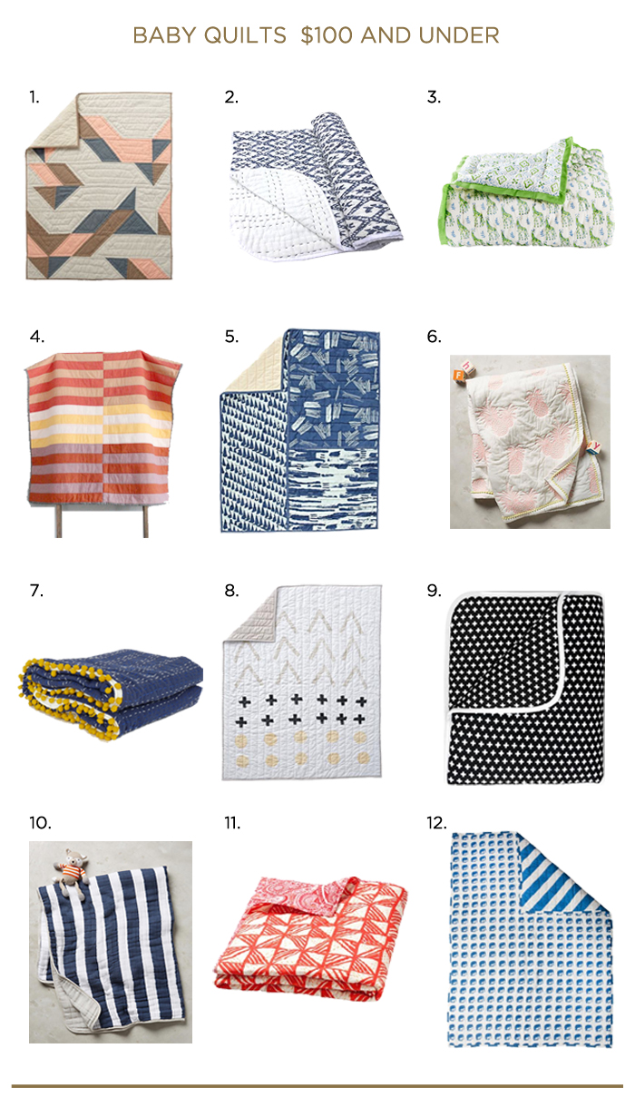 THE_MADE_HOME_baby quilt round up 100 and under