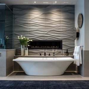 Mountain Modern Recently photographed project This is the master bathhellip