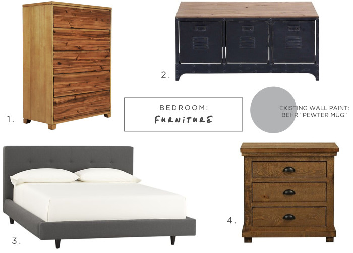 What you should buy to get a Rustic Industrial Style for the bedroom