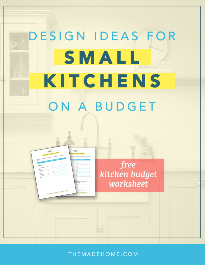 Design Ideas for Small Kitchens on a Budget