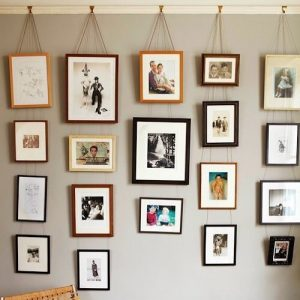 Friday Find Im inspired by this gallery wall using thehellip