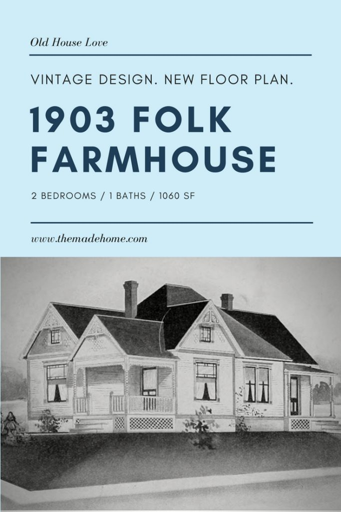 This Redesigned Farmhouse from 1903 Has Everything You Want In Under 1100 Square Feet