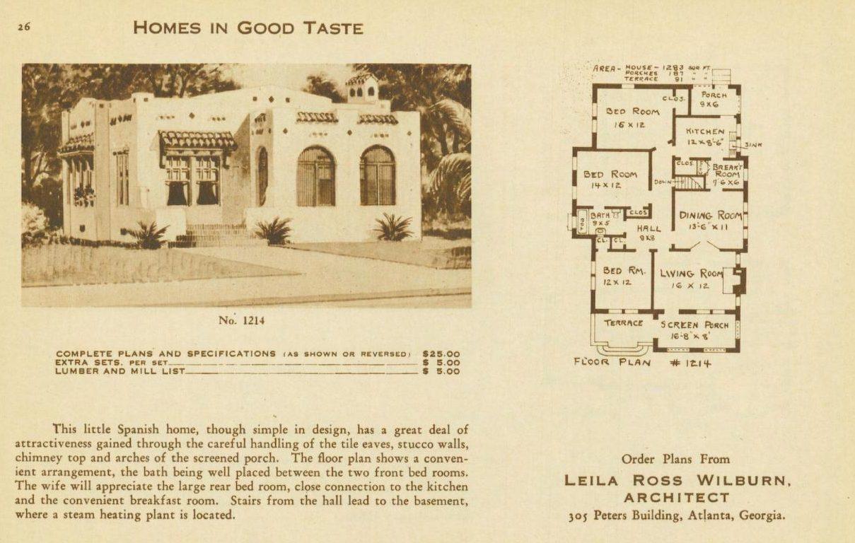 leila-ross-wilburn-pattern-books-homes-in-good-taste